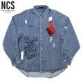 NCS X STUDIO33 LS SHIRTS ノットコモンセンス NOT COMMON SENSE 長袖シャツ