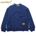 UMAMIISM 9 SQUARE GRID STITCH SWEAT SHIRTS ウマミズム クルーネック スウェットシャツ