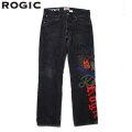 ROGIC X STUDIO33 DENIM PANTS BLACK RGS002  ロジック スタジオ33 デニム パンツ