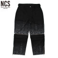 NCS SNAKE SCALE 2WAY PANTS ノットコモンセンス NOT COMMON SENSE スネーク柄 パンツ (2色展開)
