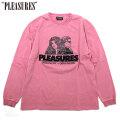 PLEASURES DISCOVERY HEAVY WEIGHT LS TEE プレジャーズ 長袖 Tシャツ (2色展開)