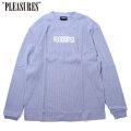 PLEASURES STRIFE THERMAL LS TEE プレジャーズ サーマル 長袖 Tシャツ (3色展開)
