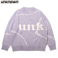 UNKNOWN BAGGY KNIT CREWNECK アンノウン ニット セーター