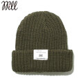 WILL ARMY KNIT CAP ウィル ニットキャップ ビーニー 帽子