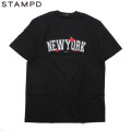 STAMPD NEW YORK SS TEE スタンプド LA 半袖 Tシャツ (2色展開)