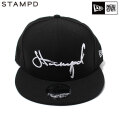 STAMPD X NEWERA SCRIPT SNAP BACK CAP スタンプド ニューエラ LA CAP スナップバック キャップ 帽子