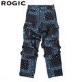 ROGIC PAISLEY PANTS BLUE RG-21S-007 ロジック ペイズリー パンツ