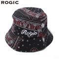 ROGIC PAISLEY BUCKET HAT RED ロジック ペイズリー バケットハット 帽子