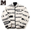 MEDM REVERSIBLE LOGO JACKET MR ENJOY DA MONEY リバーシブル ボア ジャケット