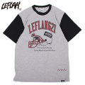 LEFLAH AMERICAN FOOTBALL SS TEE レフラー アメフト 半袖 Tシャツ (4色展開)
