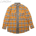 LAID BACK LABK FLANNEL SHIRTS レイドバック (2色展開)