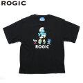 ROGIC X SMURFS SS TEE ロジック スマーフ 半袖 Tシャツ