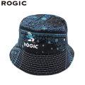 ROGIC X SMURFS PAISLEY BUCKET HAT BLUE ロジック スマーフ ペイズリー バケットハット 帽子