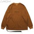 LAID BACK LOGO LOUNGE CREW LS TEE 2 レイドバック 長袖 Tシャツ (4色展開)