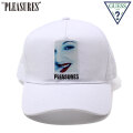 PLEASURES X GUESS ORIGINALS DREW TRUCKER HAT プレジャーズ キャップ 帽子