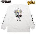 TAIN DOUBLEPUSH X MINDS & CHILL LS TEE タインダブルプッシュ マインズ 長袖 Tシャツ (2色展開)