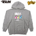 TAIN DOUBLEPUSH X MINDS DRINK ME FLOWER HOODIE タインダブルプッシュ マインズ フーディー パーカー (2色展開)