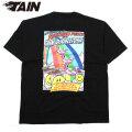 TAIN DOUBLE RAINBOW PUNCH SS TEE タインダブルプッシュ リバーシブル 半袖 Tシャツ (3色展開)