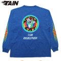 TAIN DOUBLE SUPER CAT LS TEE タインダブルプッシュ リバーシブル 長袖 Tシャツ (2色展開)