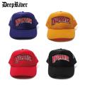 DEEPRIVER BW LOGO TRUCKER CAP ディープリバー メッシュキャップ 帽子 (4色展開)