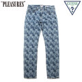PLEASURES X GUESS ORIGINALS PRINTED DENIM PANTS プレジャーズ ゲス デニム パンツ