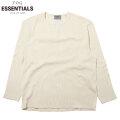 FOG ESSENTIALS THERMAL HENLY LS TEE フィアオブゴッド エッセンシャルズ 長袖 ヘンリーネック Tシャツ (2色展開)