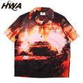 HWA REVOLT SS SHIRTS HUMAN WITH ATTITUDE ヒューマンウィズアティチュード 半袖シャツ