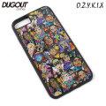DUGOUT X O.Z.Y.K.I.X RAP-RI-MAN iPhone CASE ダグアウト オージーキックス ラップリマン アイフォン ケース カバー (5タイプ)