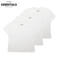 FOG ESSENTIALS 3PACK SS TEES WHITE フィアオブゴッド エッセンシャルズ 半袖 Tシャツ