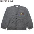 MISTER CHILD DOUBLE LOGO CARDIGAN ミスターチャイルド カーディガン (2色展開)
