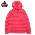 XLARGE_STRIPE HOODED L/S TEE_ボーダー パーカー 長袖Tシャツ