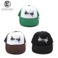 A GOOD BAD INFLUENCE GB LOGO TRUCKER CAP アグッドバッドインフルエンス メッシュキャップ 帽子 (3色展開)