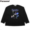 PARASONA PURPLE RAIN LS TEE パラソナ 長袖 Tシャツ