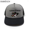 LUMIERES X QCK TRUCKER HAT ルミエール メッシュキャップ 帽子