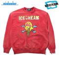 MINDSEEKER X ICECREAM CONE & BONE SWEAT SHIRTS マインドシーカー アイスクリーム スウェットシャツ