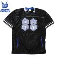 MAISON EMERALD BASEBALL SS TEE メゾンエメラルド メッシュ 半袖 Tシャツ (2色展開)