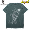 A GOOD BAD INFLUENCE X DUGOUT OL' CRACKED POCKET SS TEE 半袖 Tシャツ (2色展開)