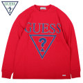 GUESS GREEN LABEL TRIANGLE QUESTION MARK LS TEE ゲス グリーンレーベル 長袖 Tシャツ GGL SS19 (3色展開)
