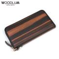 WOODLUM_REAL WOOD LONG WALLET -KOKUTAN-_木製 長財布 ロングウォレット