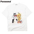 PARASONA TWINS SS TEE パラソナ 半袖 Tシャツ