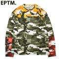 EPTM. COLOR BLOCK CAMO LS TEE エピトミ マルチ カモフラ 長袖 Tシャツ (2色展開)