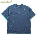 UMAMIISM RIPPLE PATTERN SS TEE ウマミズム 半袖 Tシャツ