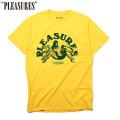 PLEASURES LOGIC SS TEE プレジャーズ 半袖 Tシャツ (2色展開)