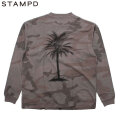 STAMPD CAMO PALM RELAXED LS TEE 長袖 Tシャツ