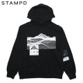 STAMPD EMPTY WAVE PULLOVER HOODIE フーディー パーカー