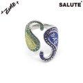 SALUTE X EVAE MOB SNAKE PAISLEY RING サルーテ エバーモブ リング 指輪