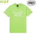 HUF X HAZE HANDSTYLE 2 S/S TEE ハフ エリック・ヘイズ 半袖 Tシャツ (2色展開)