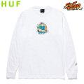 HUF X STREET FIGHTER CHUN-LI L/S TEE ハフ ストリートファイター 長袖 Tシャツ