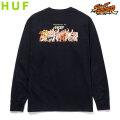 HUF X STREET FIGHTER ENDING L/S TEE ハフ ストリートファイター 長袖 Tシャツ