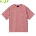 HUF SCRIPT POCKET SS TEE ハフ ポケット 半袖 Tシャツ (3色展開)